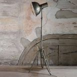 Lampadaire trépied en métal style industriel Spotlight Be Pure