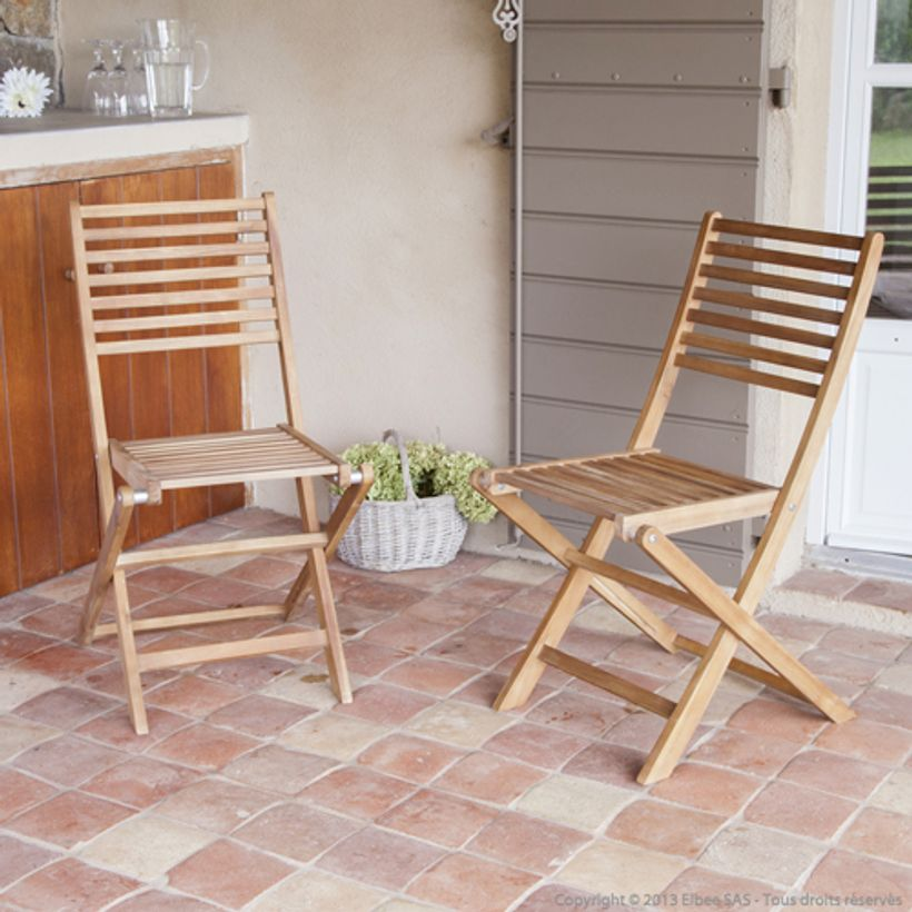 Salon de jardin Table extensible et 6 chaises Laemis GreenPath