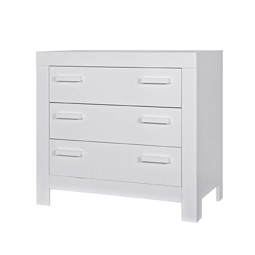 Commode Enfant En Pin Massif Fsc New Life Blanc Decoclico # Commode Pin Blanchi