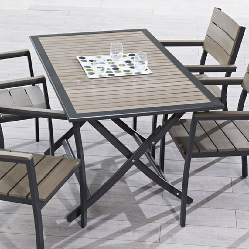 Stunning Table De Jardin Metal Rose Pictures - Doztopo.us - doztopo.us