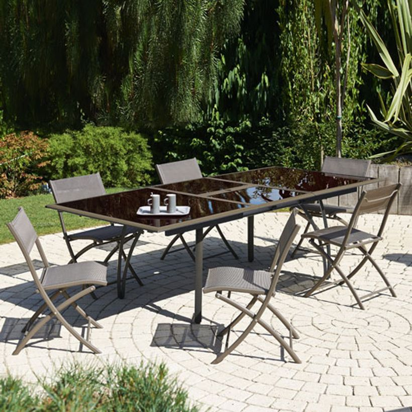 Awesome Salon De Jardin Alu Fibre Ciment Pictures - shopmakers.us ...