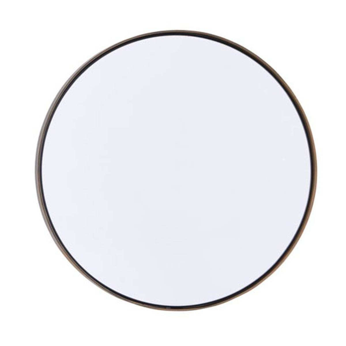Miroir rond cadre finition laiton Reflektion House Doctor