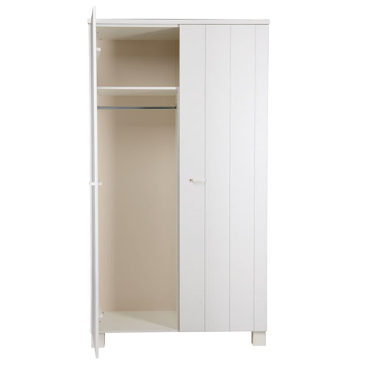 armoire pin massif blanc meuble buffet enfilade en pin massif blanc et cir portes made in. Black Bedroom Furniture Sets. Home Design Ideas