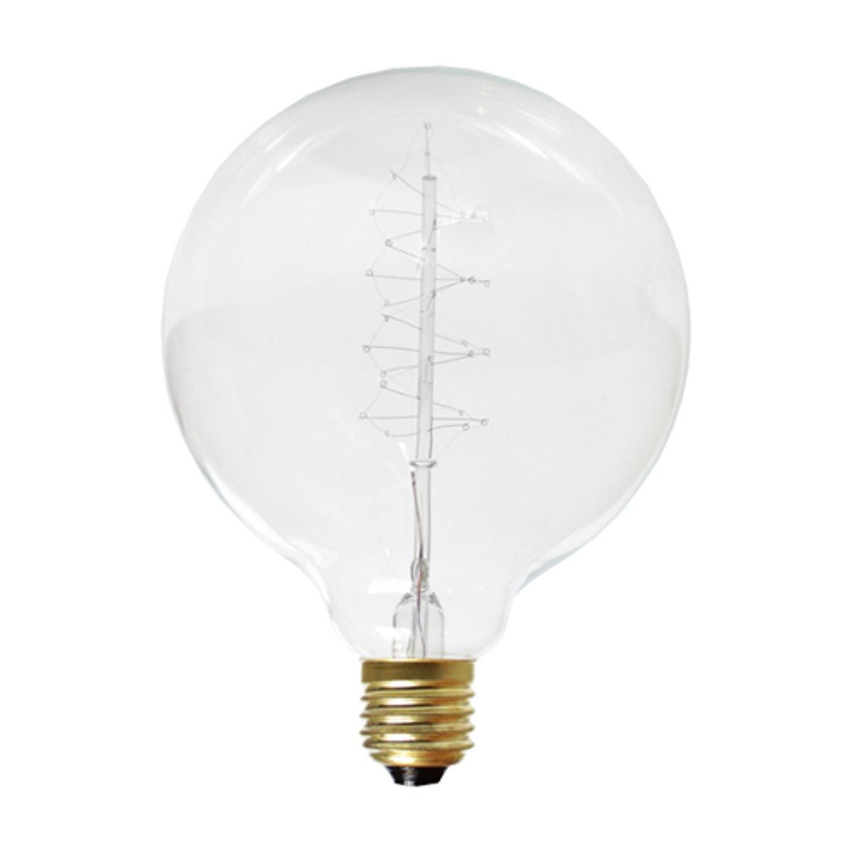 Ampoule globe E27/40W filament de carbone 125 mm Nud Collection