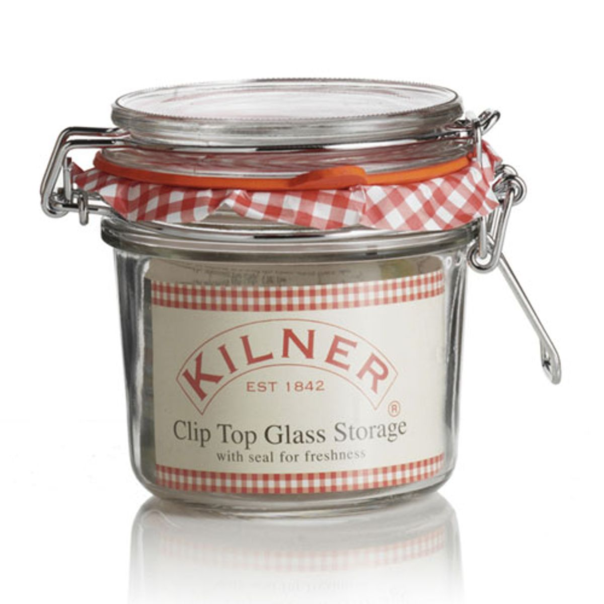 Pot de conservation en verre transparent 0,35 L Kilner