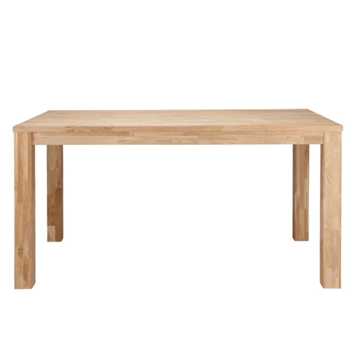 Table rectangulaire L 180 en chêne massif naturel largo -MM